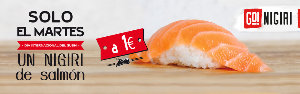 Promoción día internacional del sushi