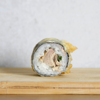Sushi crispy pato