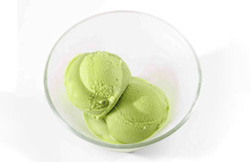 Helado de Té Verde