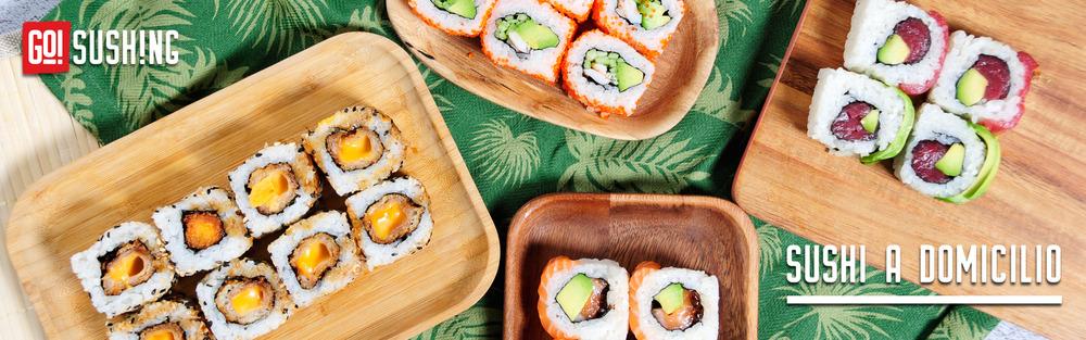 Pide tu Sushi en madrid de Confianza a domicilio