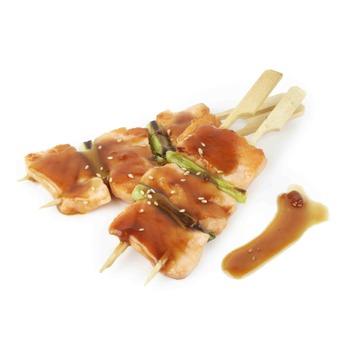 Kushiyaki de Salmón