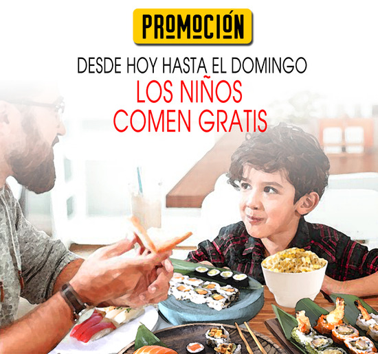 Promoción Gosushing Arroz Frito