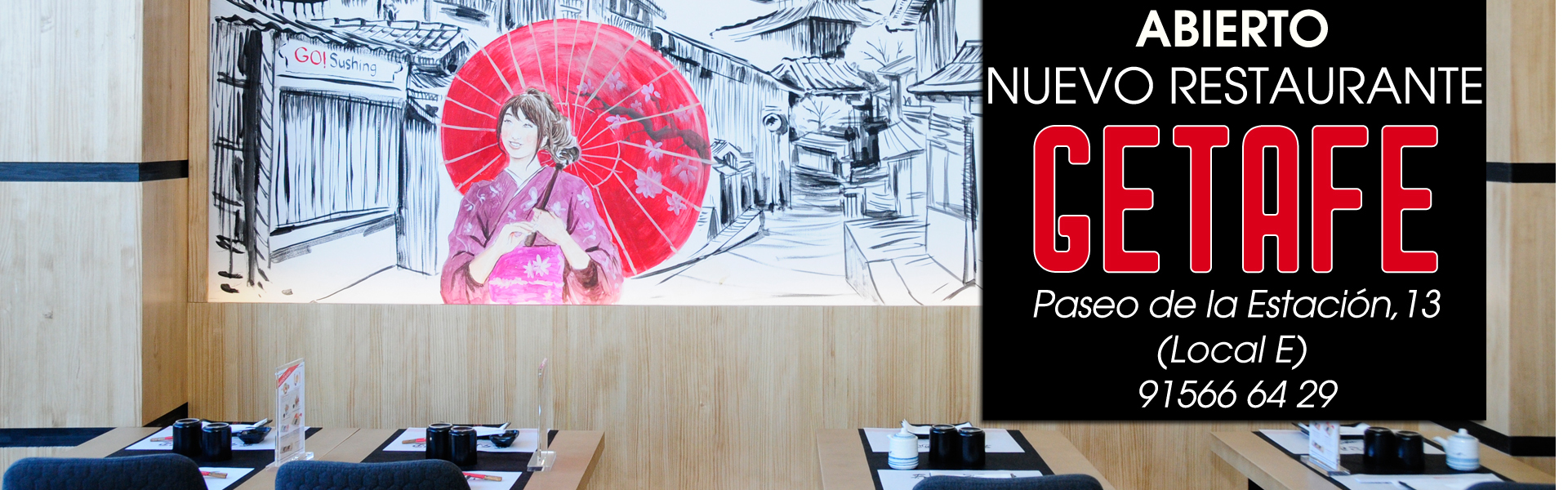 Abierto nuevo restaurante GETAFE