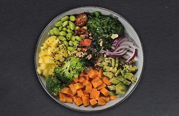 Poké vegano