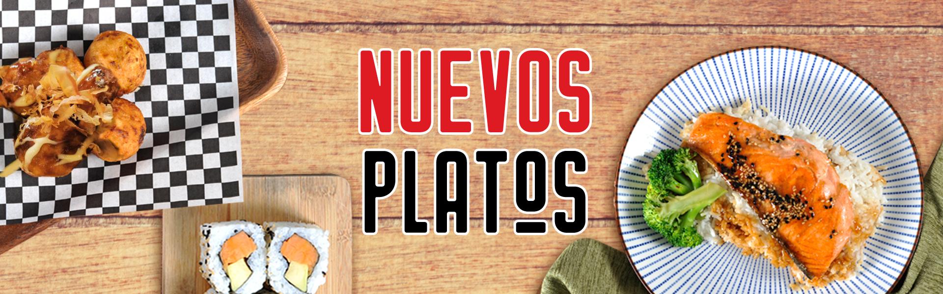 Nuevos Platos Septiembre