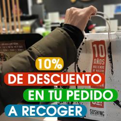 Promoción Pedidos Online a Recoger