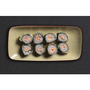 Sushi crispy salmón