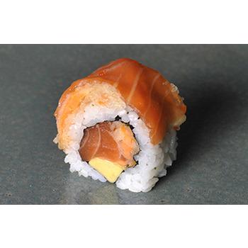 Salmón Kariage Roll