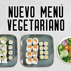 menu vegetariano pequeño