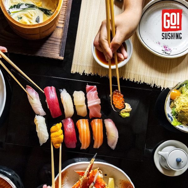 Descubre Nuestras Bandejas de Sushi a Domicilio!