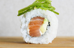 Dancing Salmon Roll