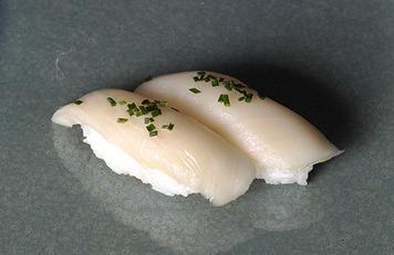 Sushi pez mantequilla