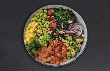 Salmón Poké Bowl
