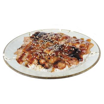 Pollo Teriyaki con arroz (ración)