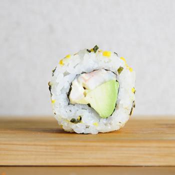 Gamba Furikake Roll