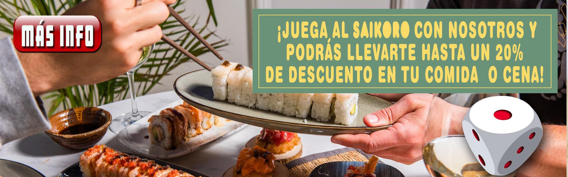 Promo Sushi en Local