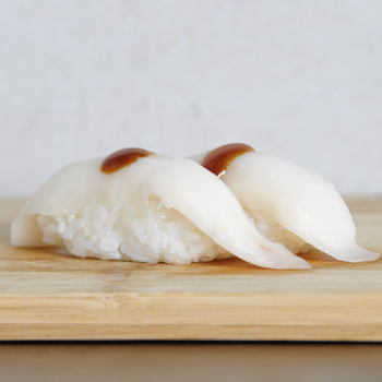 Sushi pez mantequilla con trufa