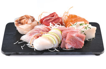 Sashimi variado 20 cortes