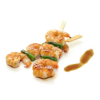 Kushiyaki de Gambas
